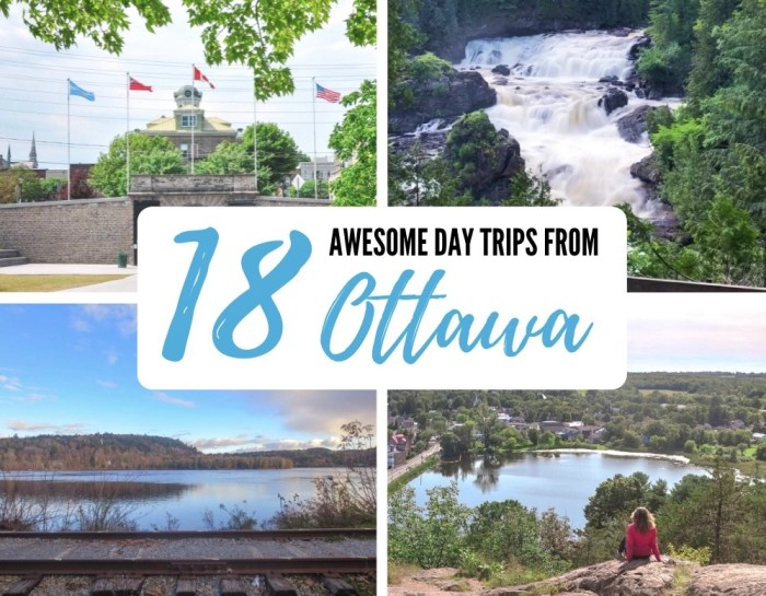 18 Awesome Day Trips from Ottawa (Under 2 Hours Away) + Maps