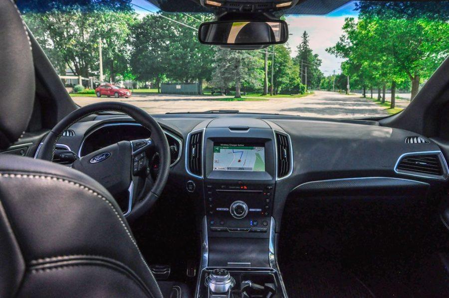 The 2019 Ford Edge - interior