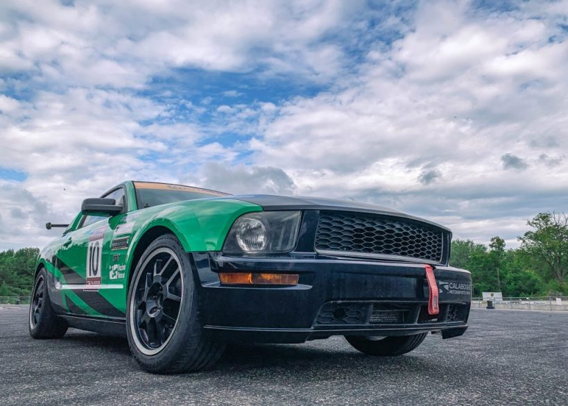 Race car driving at Calabogie