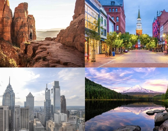 40+ of the Best U.S.A. Destinations for a Weekend Getaway