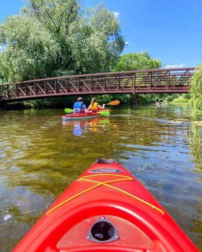 kayaking in Ottawa