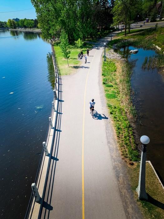 Rideau Canal Biking