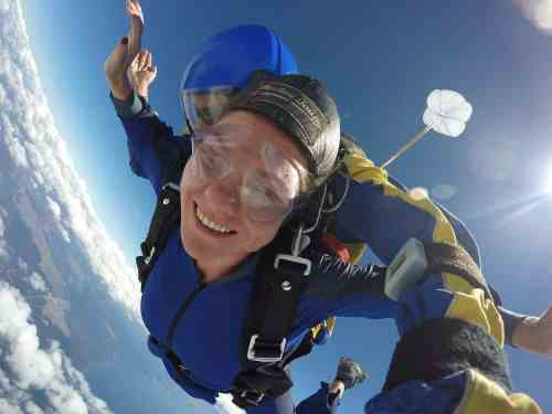 Skydiving in Taupo, New Zealand