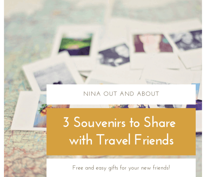 3 Souvenirs to Share with Travel Friends