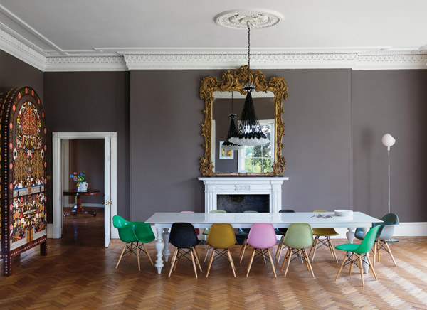 mixing furniture styles  Decor Inspiration
