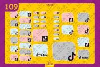 Tiktok Back to School Stickers/ Labels From Nina Prints