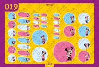 Minnie Back to School Stickers/ Labels From Nina Prints