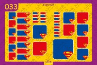 Superman Back to School Stickers/ Labels From Nina Prints