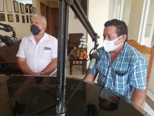 Jarbey Fiallos y Guido Ramos