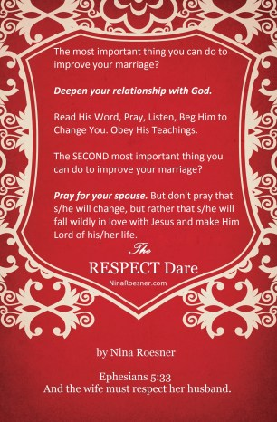 most important thing to improve your marriage