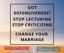 Causing Defensiveness- (1)
