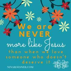 We are NEVER