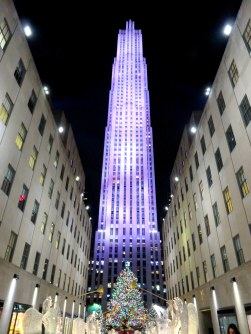 Rockefeller Center in all its glory. It's like Disneyland, but without the entrance fee.