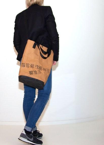 Stylische Shopper aus SnapPap