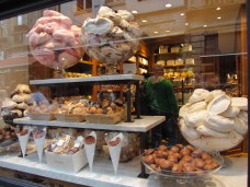 One of many Belgian chocolate/candy shops