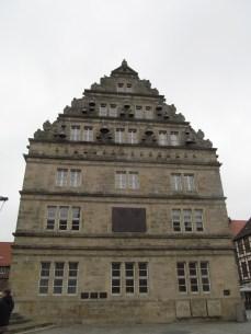 Glockenspiel side of Museum Hameln