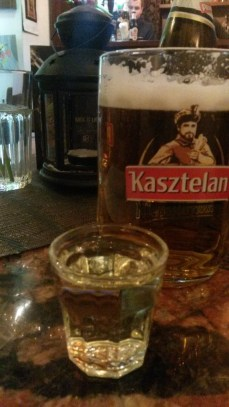 Polish vodka & beer