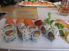 Sushi in Olso