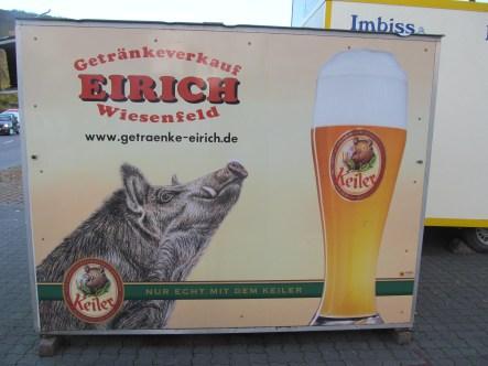 Local Keiler beer