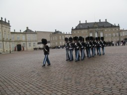Amalienborg changing of the guards
