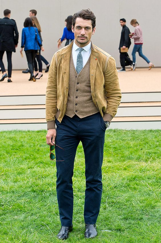David Gandy  - Foto: Vogue México y Latinoamérica