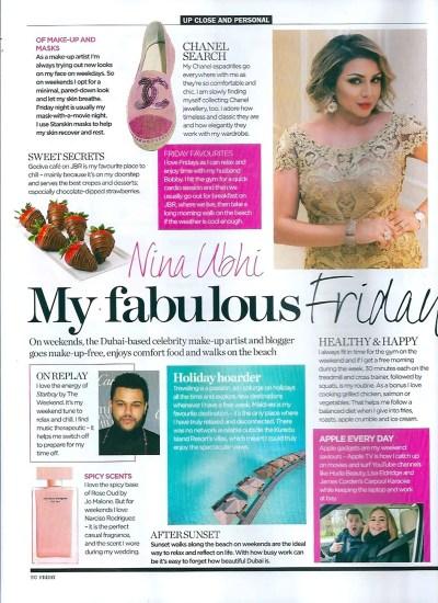 In the Press | Nina Ubhi Makeup Artist