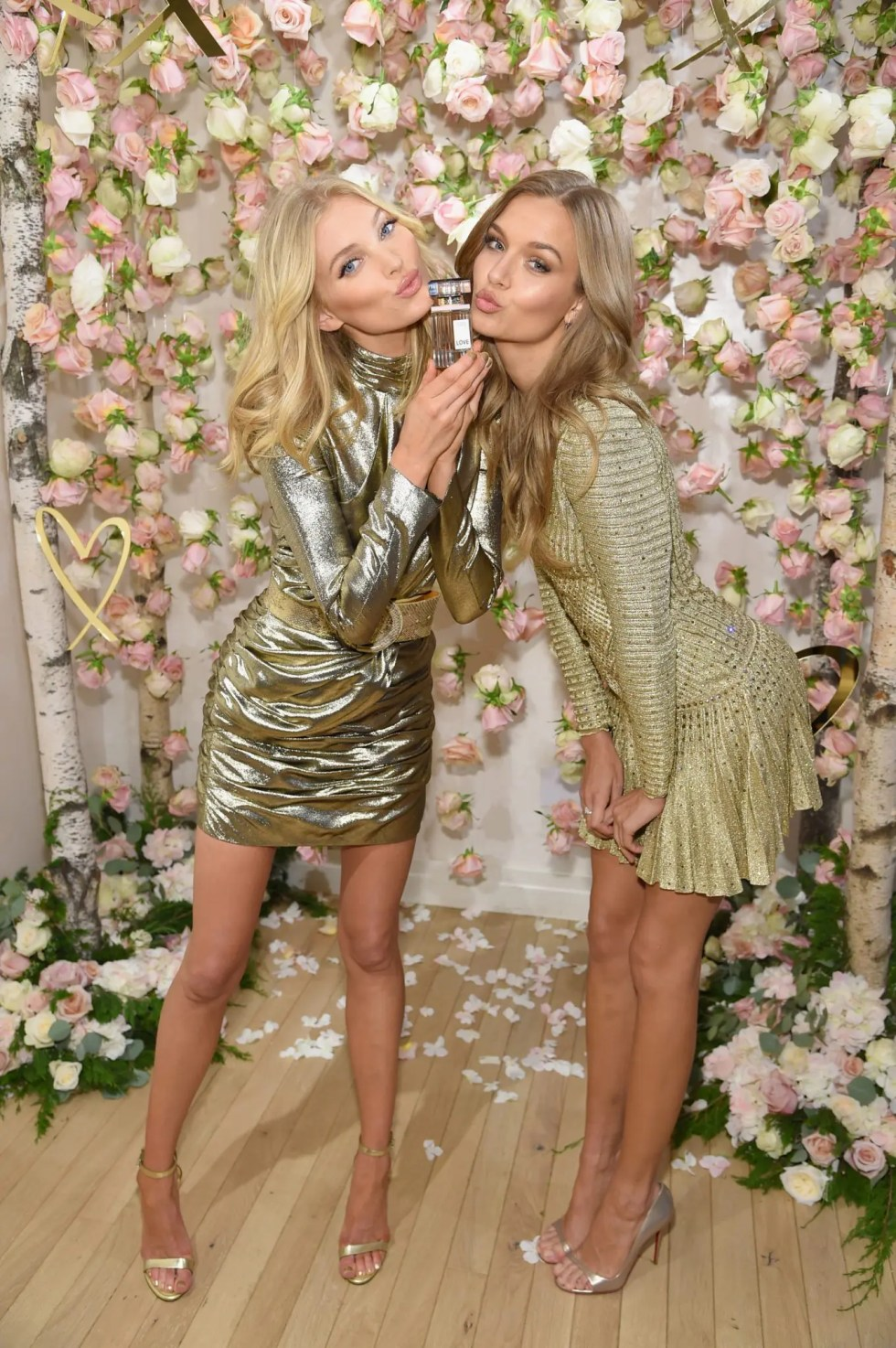 Victoria's Secret Angels Josephine Skriver And Elsa Hosk Celebrate The All-New LOVE Fragrance