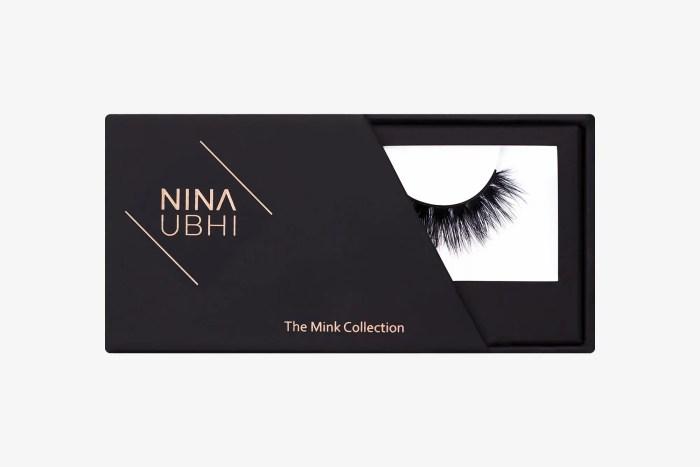 Savanna Mink Lashes, false eyelashes in a Nina Ubhi branded box