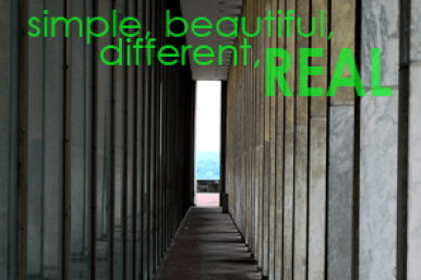 Simple, Beautiful, Different, Real