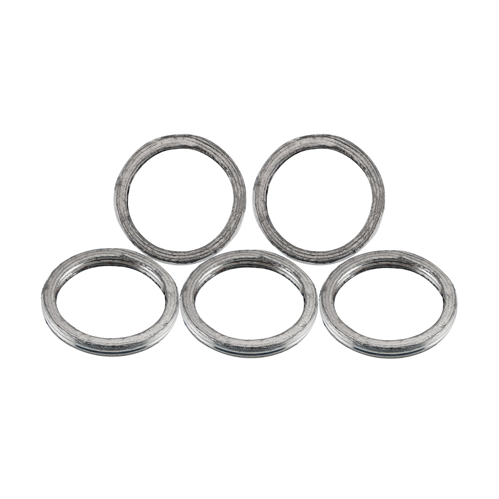 5X Exhaust Gasket Set 823070 For Yamaha Moto 4 YFM200