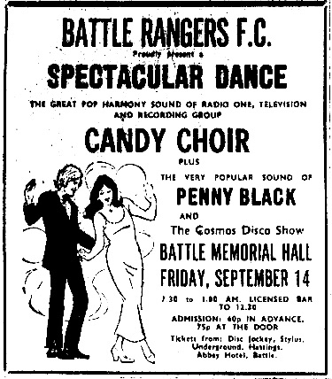 Candy Choir and Penny Black