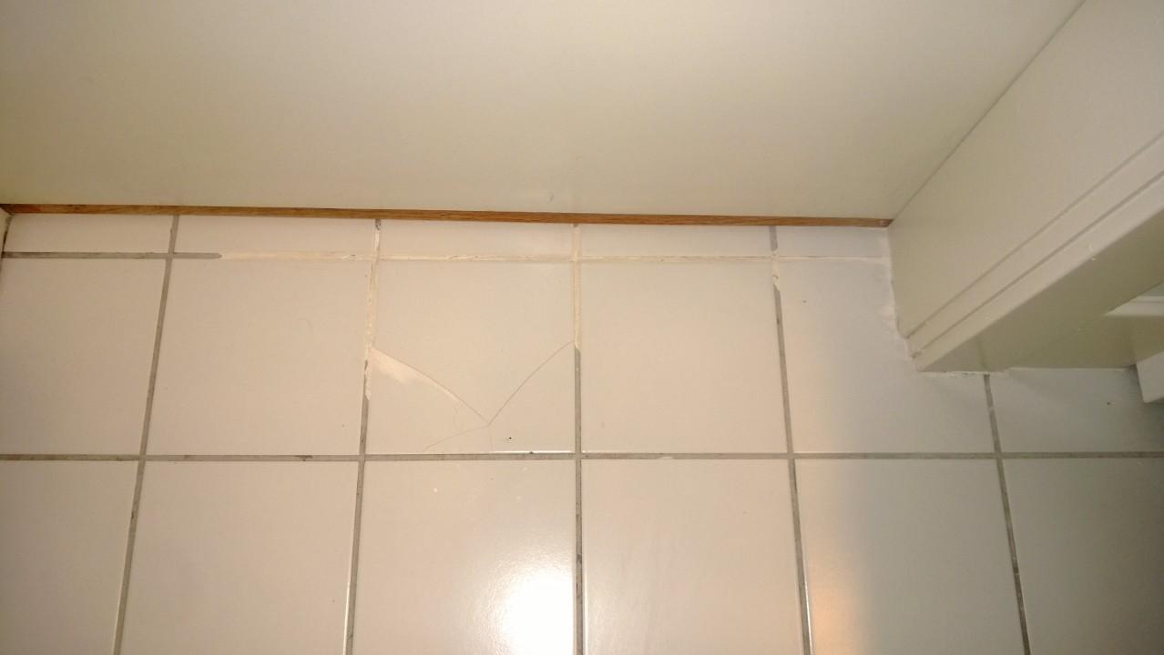 Regrouting Bathroom Tile  ORBITED BY NINE DARK MOONS