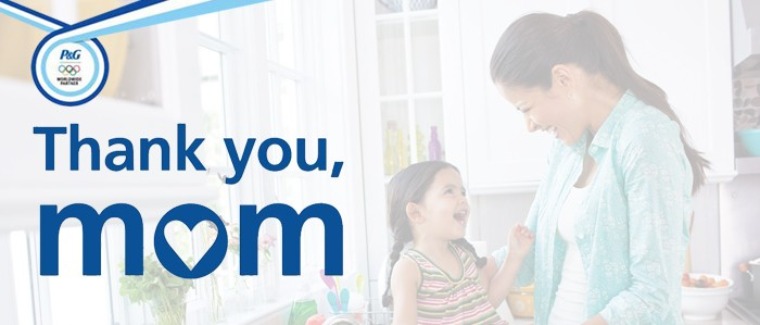 """P&G """"Thank You, Mom"""""""