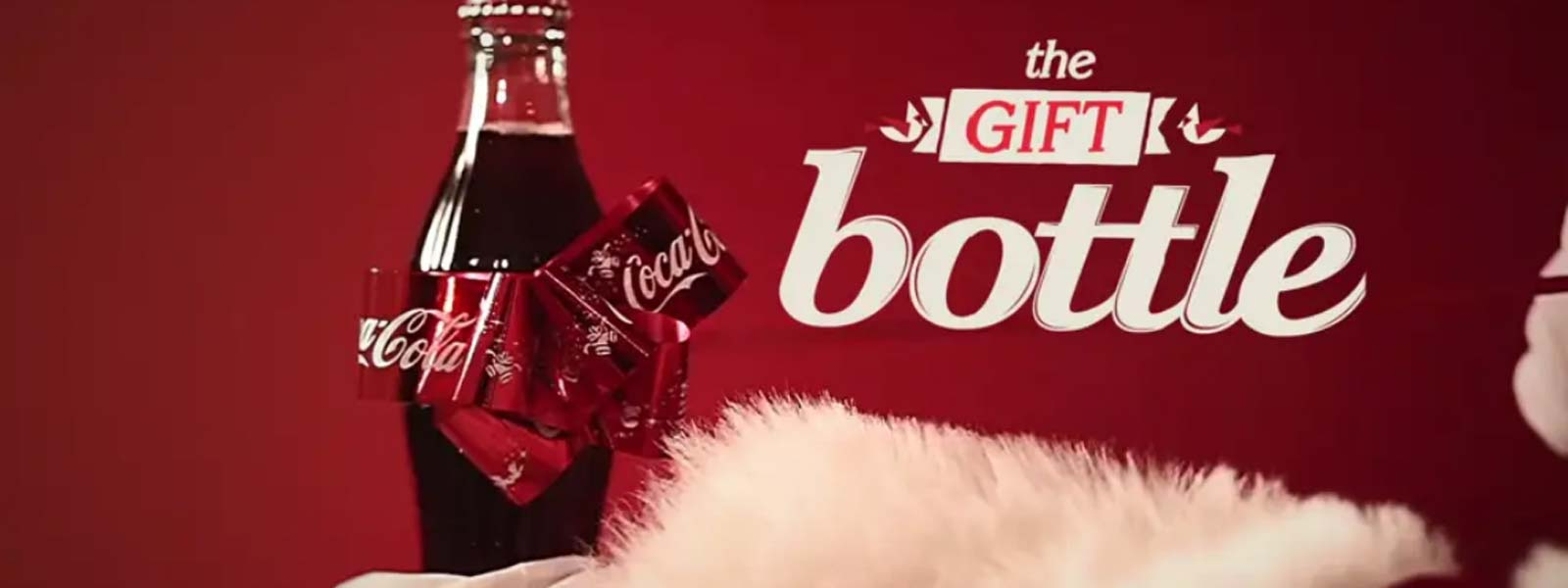Chiến Dịch marketing hay - The Gift bottle coca-cola