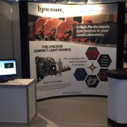 Lyncean Technologies tradeshow booth graphic design