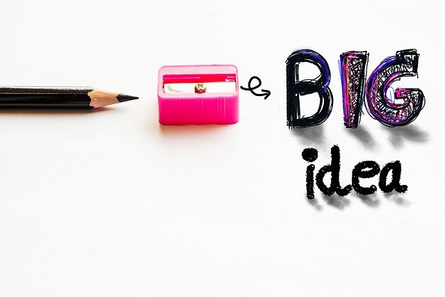 Pencil Idea Concept  - Saydung89 / Pixabay