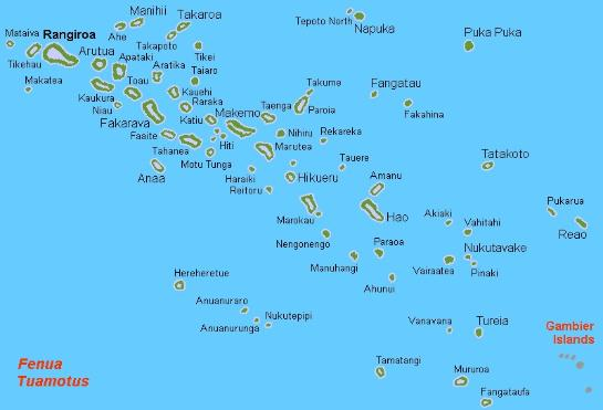 Sailing To The Tuamotu Archipelago With Yacht Nine Of Cups