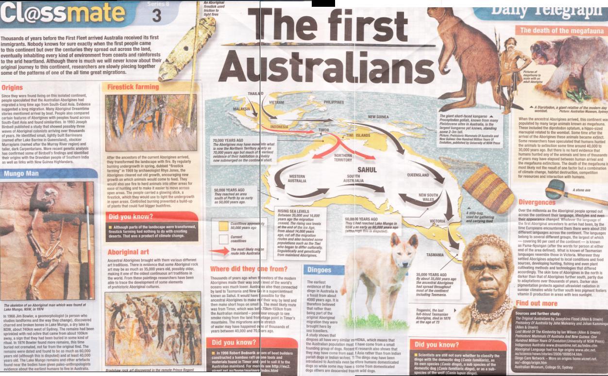 The First Australians Nineonetwo S Weblog
