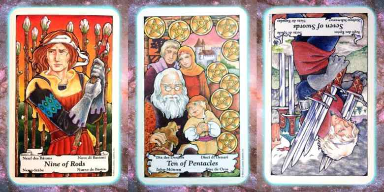 Nine's Path Pleiadian weekly tarot blessing