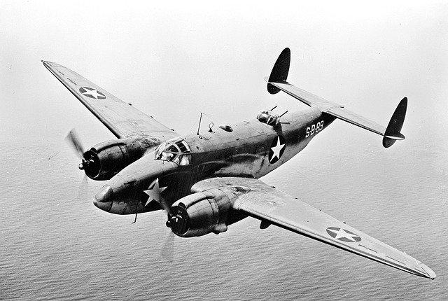 第2次大戦のアメリカ爆撃機