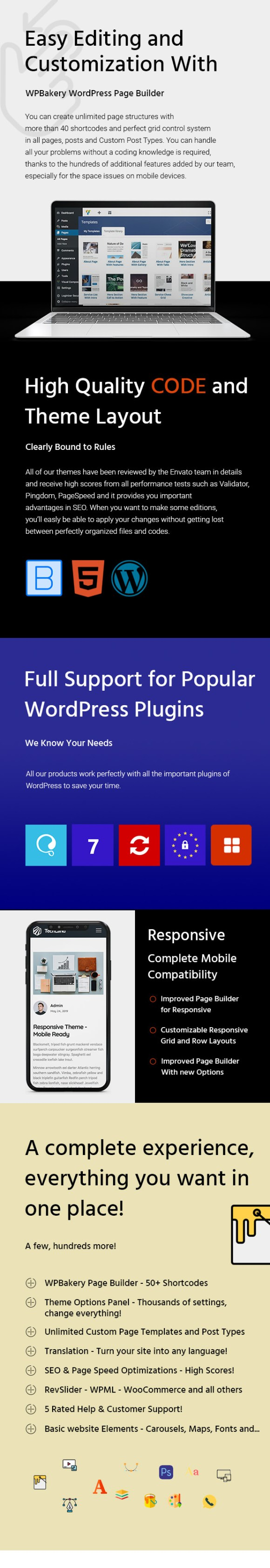cursor - WordPress business  showcase landing page Theme