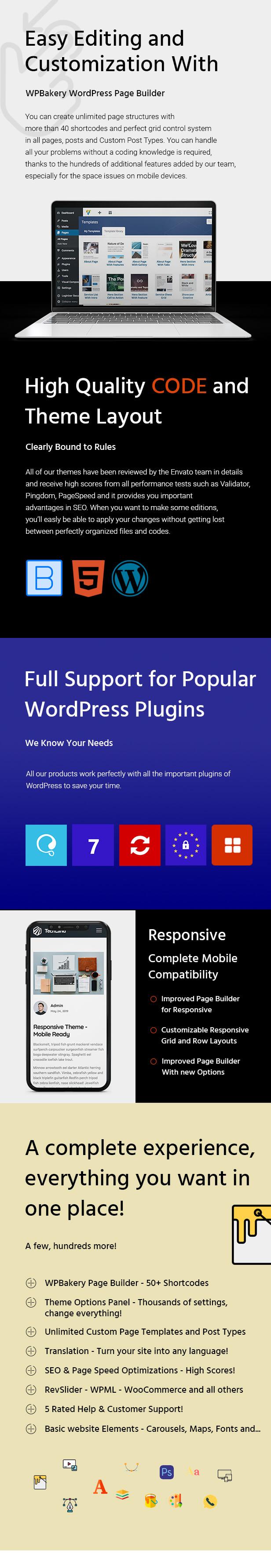 Urip - WordPress Landing Page Theme