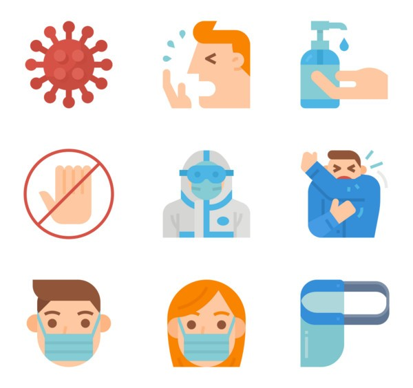 Coronavirus Icon Packs