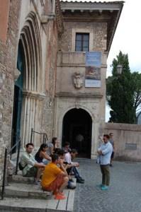 The Entrance to Villa D'Este