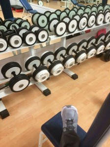 Weights...obviously