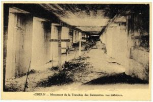 Old Postcard of The Trench
