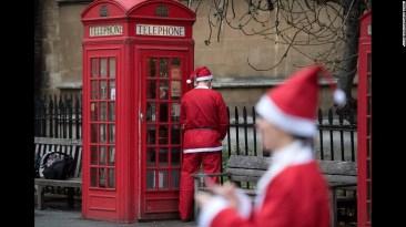 Anche a Babbo Natale quando scappa, scappa..!