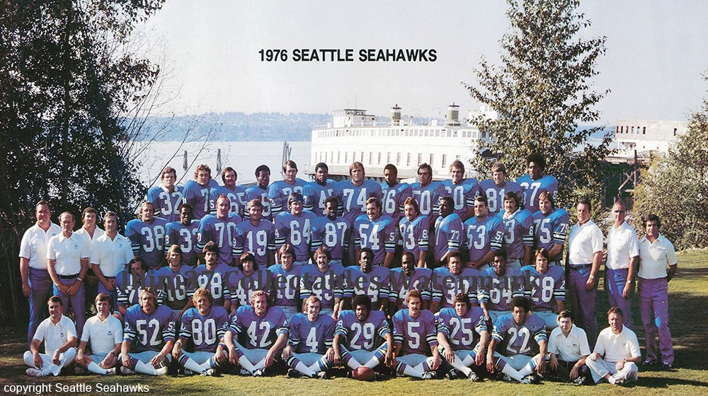 The Seattle Seahawks humble beginnings