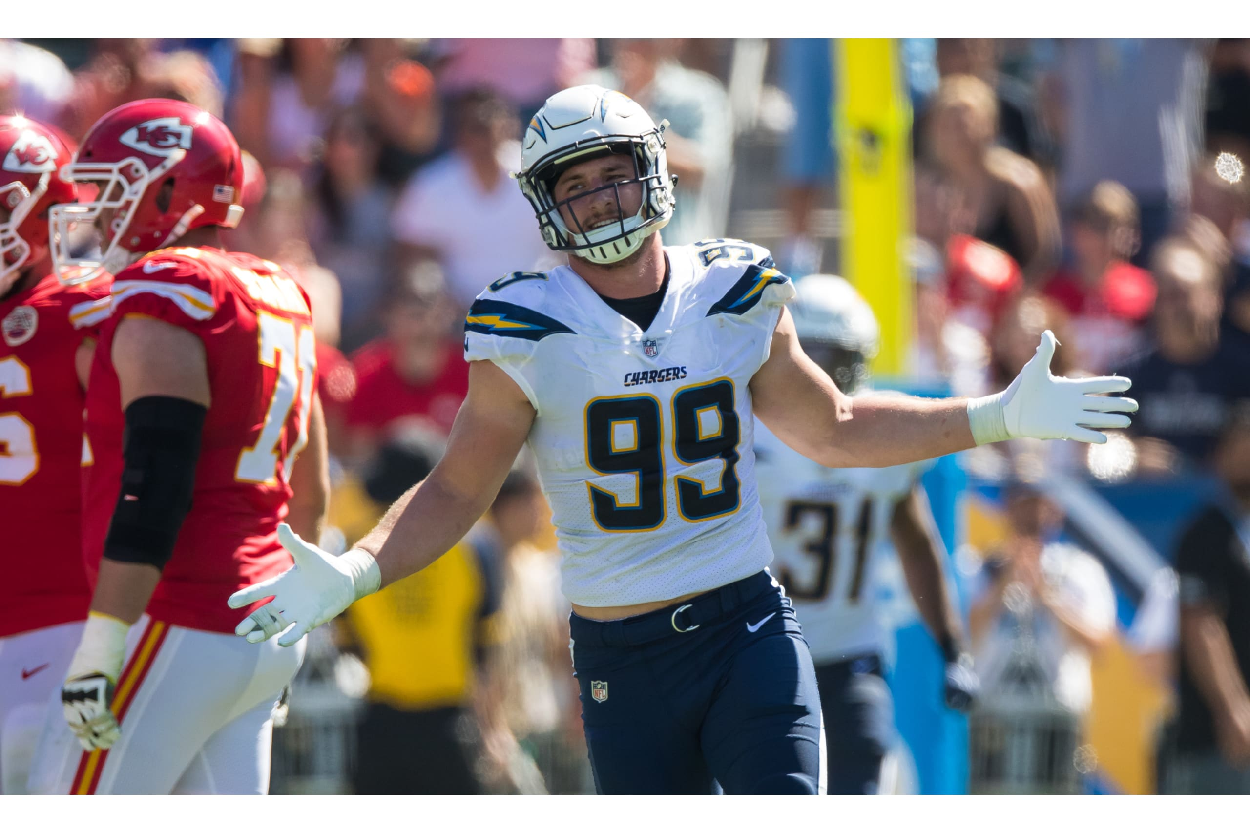 Don't sleep on the Chargers, they could have the best defense in the NFL