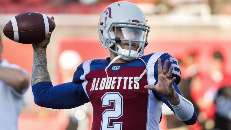 Manziel gets his chance – set to start for Montreal